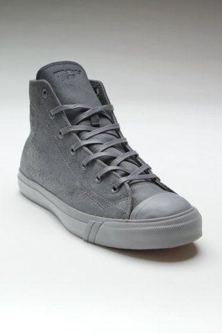 PRO-Keds Royal Hi Leather Charcoal