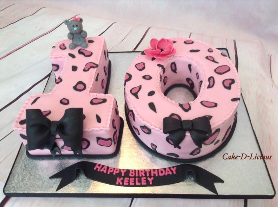 Number Ten Cake