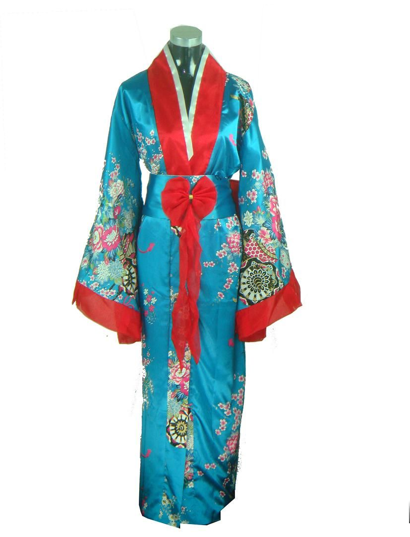d0490798f647f Details about Hot Traditional Yukata Japanese Kimono Costume Dress ...