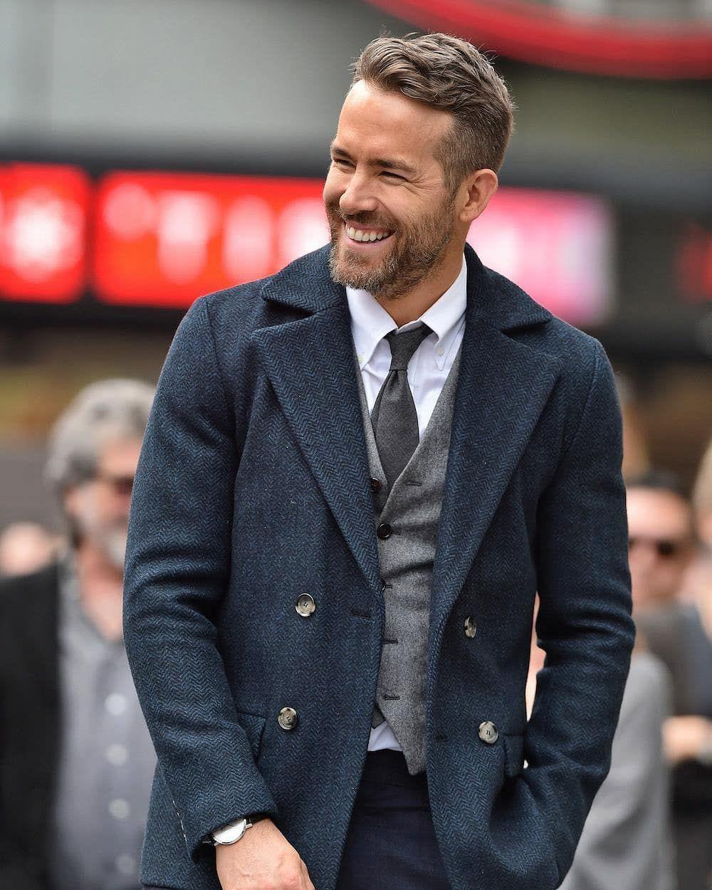 "Gentleman's Approval on Instagram: ""Ryan Reynolds gentleman"