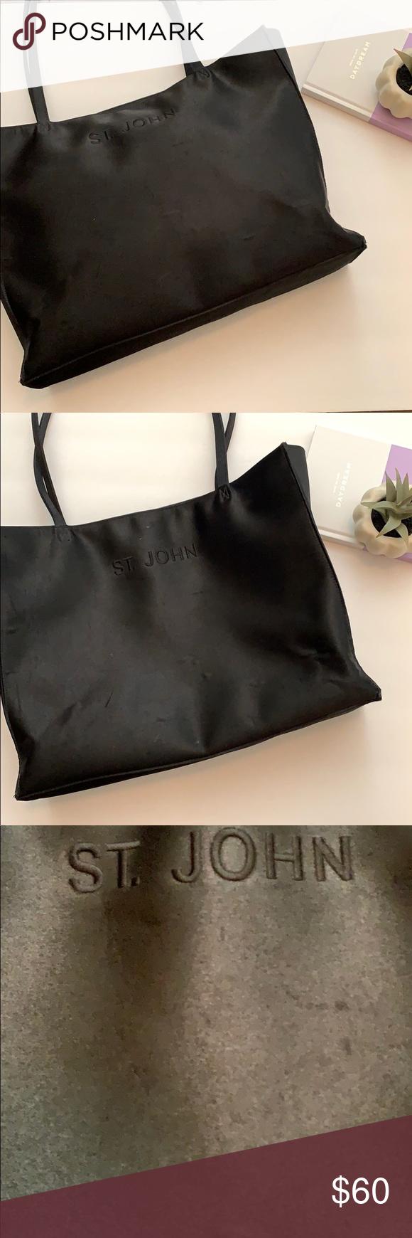Vintage St John Tote Bag Tote Bag Bags Tote