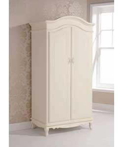 Evelyn 2 Door Wardrobe - Ivory. #ArgosRoomInspiration