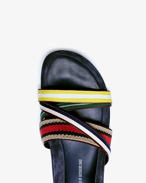 Band Of Outsiders Strappy Shower Slide | LuckyShops