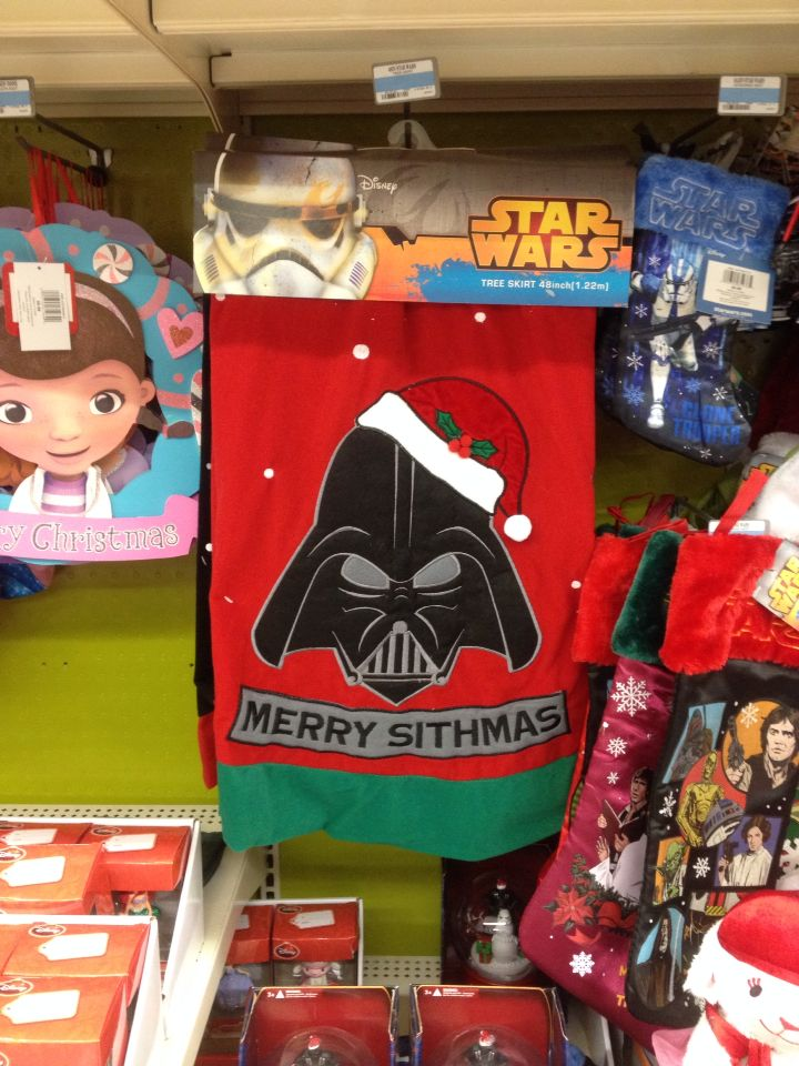 Star Wars Christmas tree skirt at Kmart #Darth Vader | Christmas ...