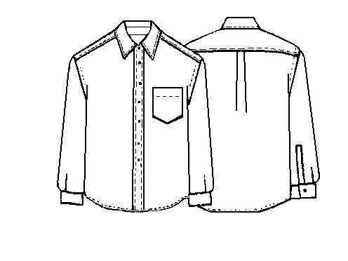 Free men's shirt pattern