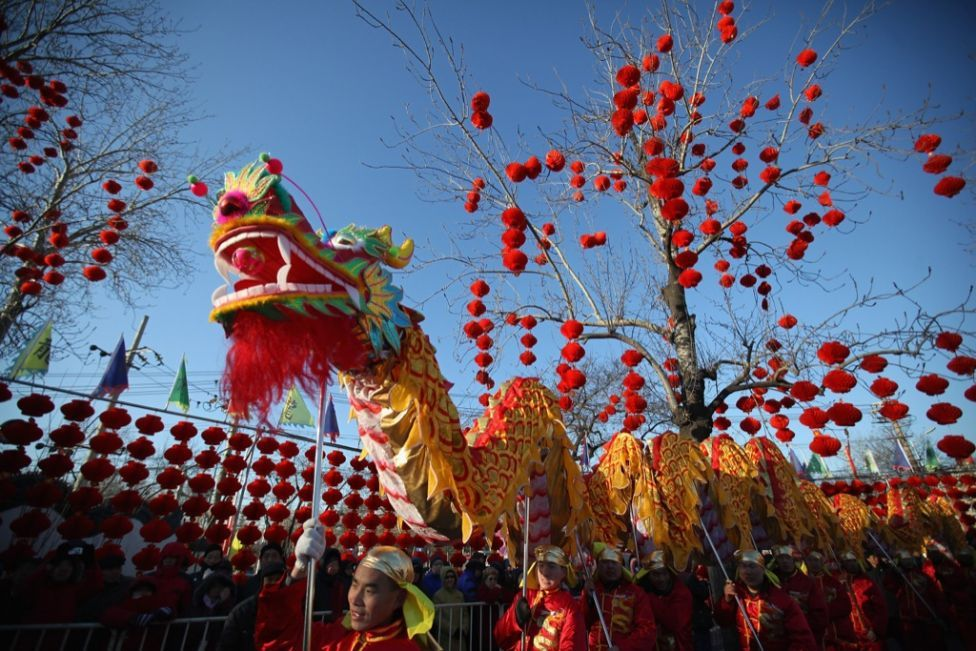 monday begins the year of the dragon considered the luckiest of the chinese lunar years some chinese and chinese americans are so committed to welcoming a - When Is Chinese New Year Celebrated
