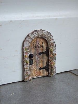 Awesome Skirting board fairy door I ll make it a mouse house door Picture - Unique door skirting Photos