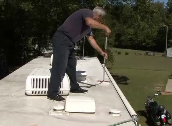 Cleaning Amp Protecting Your Rv Roof Camper Repairs