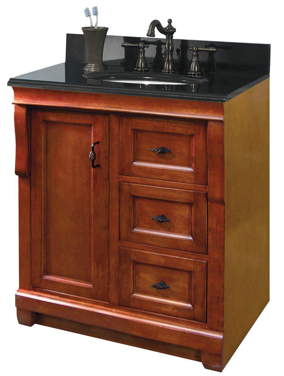 Pegasus Naca3021d Naples 30 Inch Vanity Warm Cinnamon 30 Inch Vanity Bathroom Vanity Base 30 Inch Bathroom Vanity [ 1279 x 966 Pixel ]