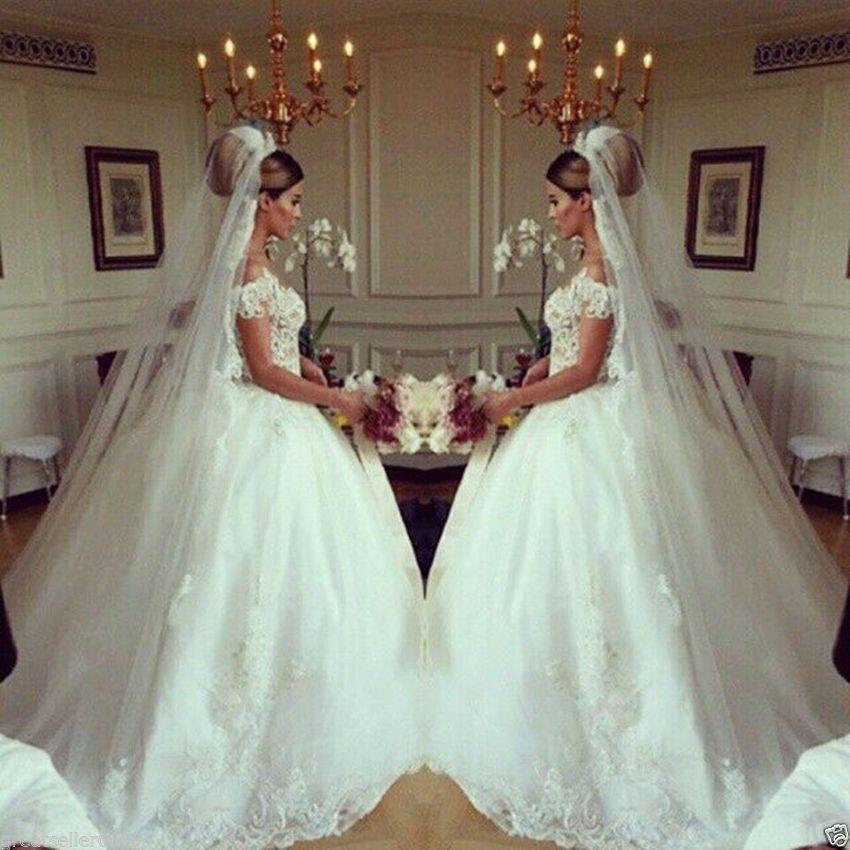 Prinzessin Brautkleid Hochzeitskleider Sptize Abendkleid Partykleid ...