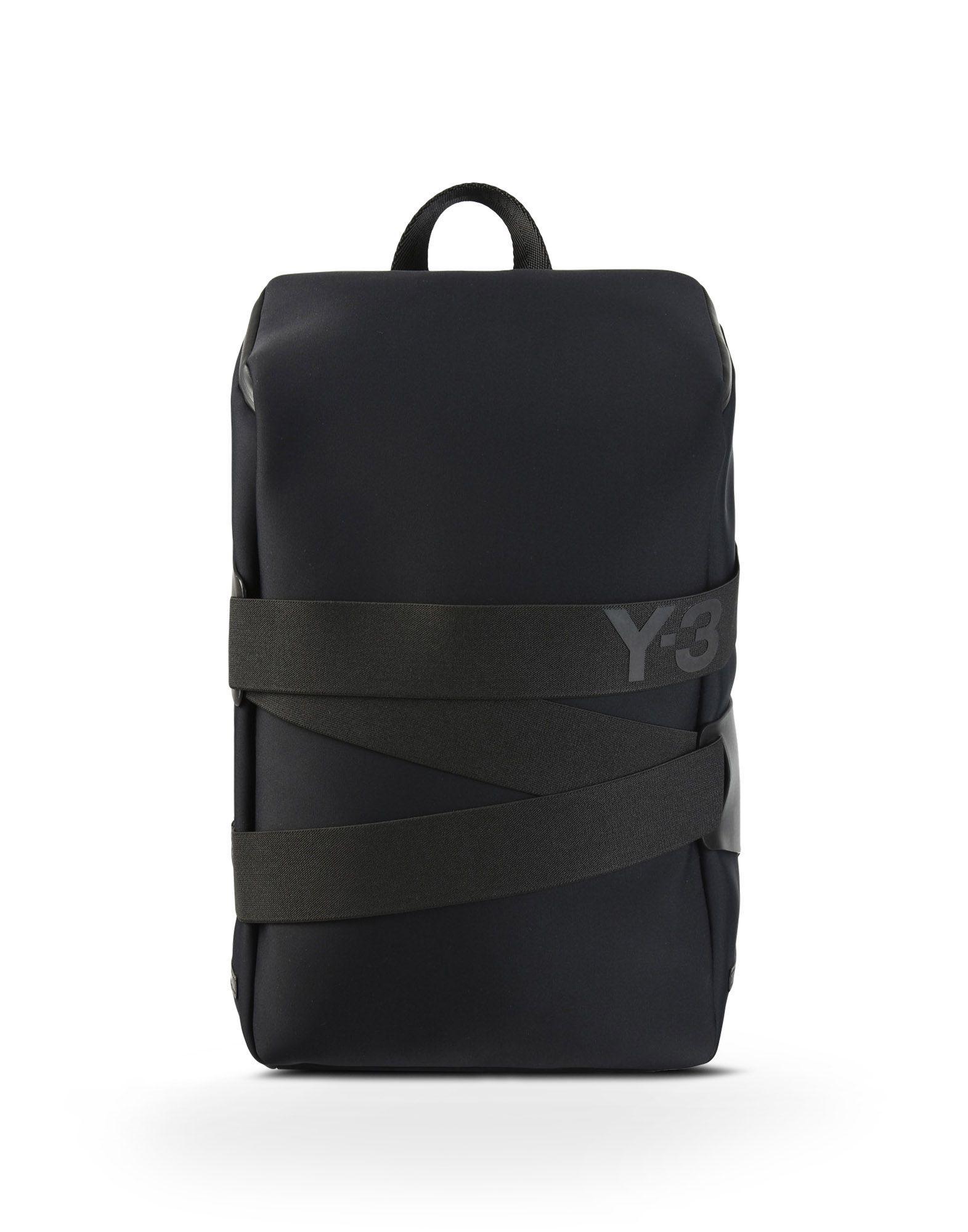 e42833592e84 Adidas - Y-3 QRUSH BACKPACK SMALL BAGS - black unisex Yohji Yamamoto