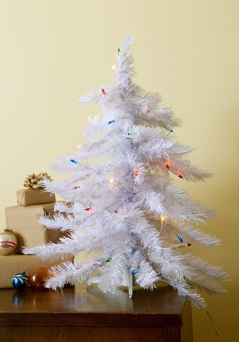 glow tannenbaum mini christmas tree white holiday multi - Mini White Christmas Tree