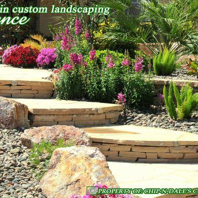 chip-dale's custom landscaping