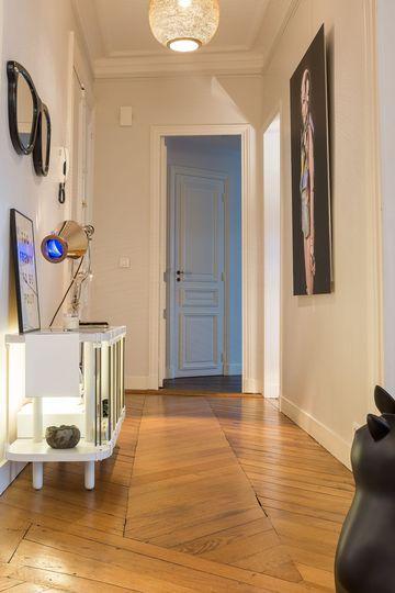 Appartement paris 8  appart galerie du0027art proche des Champs Elysées - deco entree d appartement