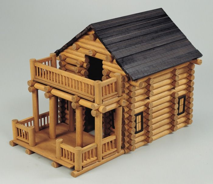Mountain Lodge Cabin A More Detailed Tumble Tree Timber Set That