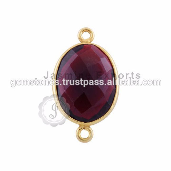 #VermeilGoldBezel #AmethystGemstone #Connectors #Wholesaler #GemstoneJewelry #JewelrySupplier #NecklaceConnectors #AmethystGemstoneJewelry