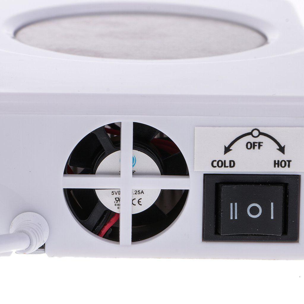 MagiDeal Electric USB Coaster Tea Coffee Cup Mug Warmer ...