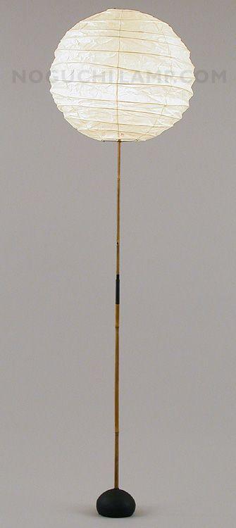 Akari floor lamp isamu noguchi fellestavle for a3 pinterest bamboo and chinese lantern floor lamp diy idea for cheap lantern shade light noguchi akari aloadofball Gallery