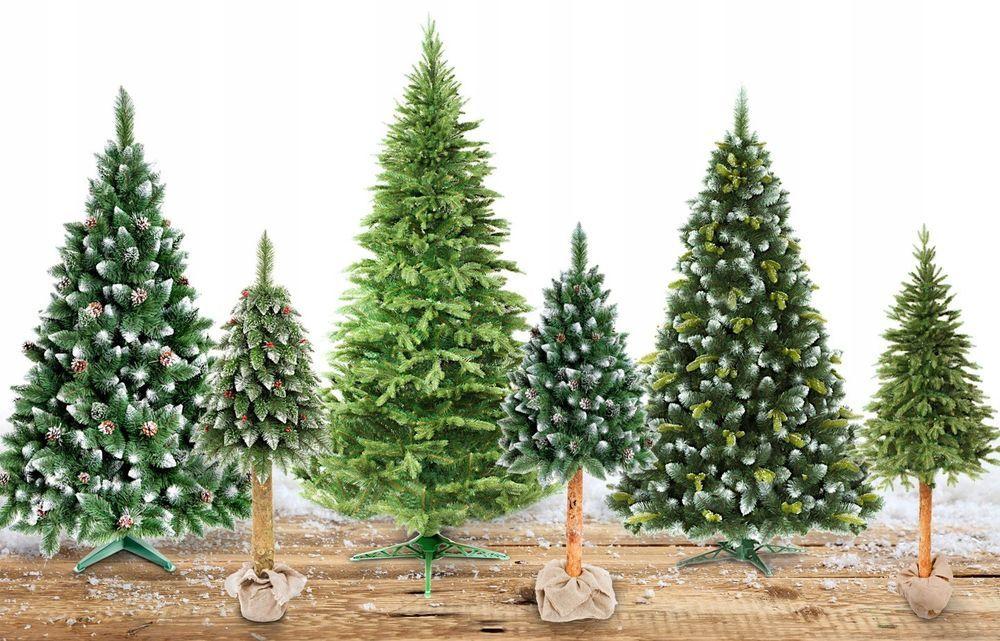 Sapin artificiel 160 180 220 arbre de noel sur tronc naturel ...
