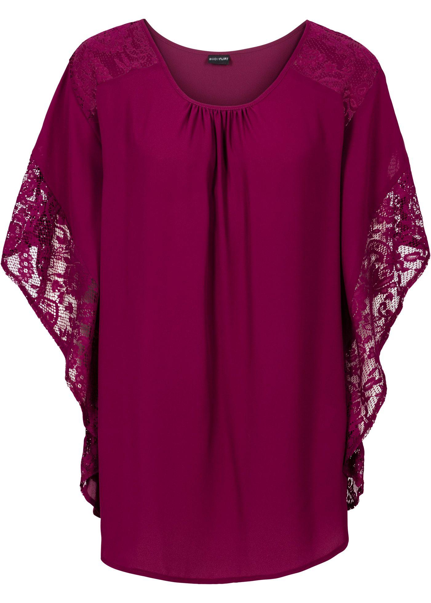 Blouse bessen - BODYFLIRT nu in de onlineshop van bonprix.nl vanaf ? 22.99 bestellen. Deze blouse van het merk BODYFLIRT betovert met een vrouwelijke ...