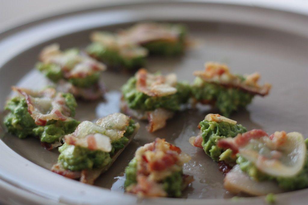 avokádo v slaninke