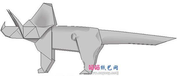 Photo of 三角龙手工折纸的方法