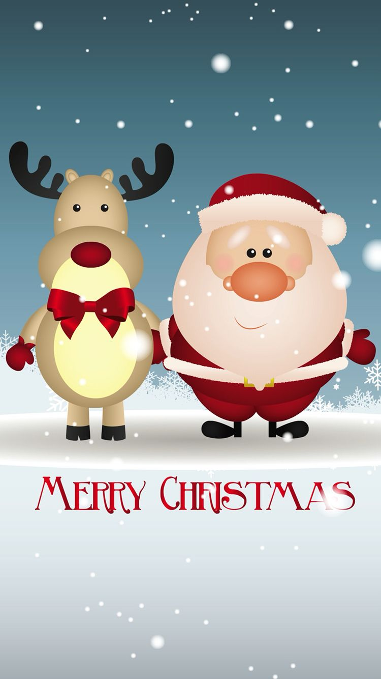 iPhone wallpaper merry Christmas   CHRISTMAS   Pinterest   Christmas ...
