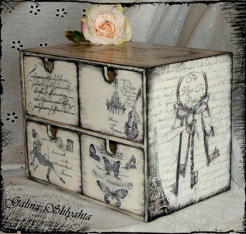 Cajas Decorativas Redondas Estilo Vintage