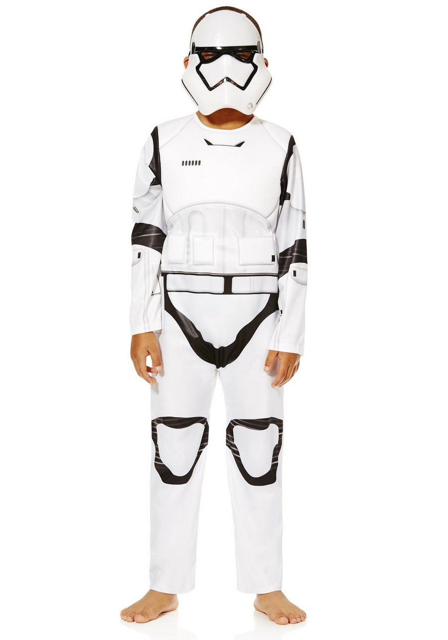 Stormtrooper Disney Star Wars Men/'s Fancy Dress Costume