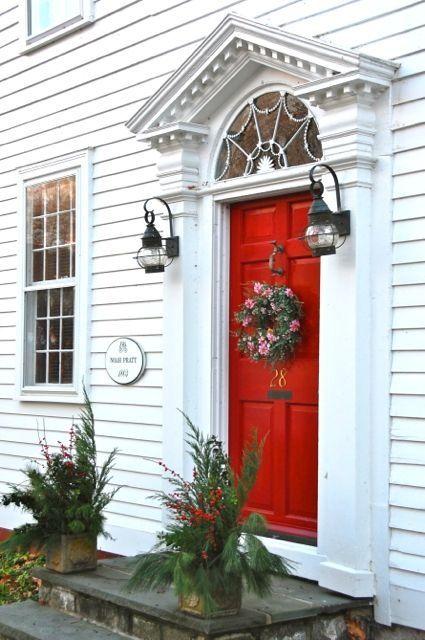 What Does Having A Red Door Mean Debbiedoos Painted Front Doors Red Front Door Front Door Design