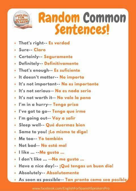 Pin De Mercedes Fernandez En Frases Como Aprender Ingles Basico Expresiones En Ingles Frases Comunes En Ingles