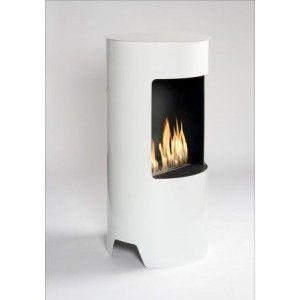 Trataka Free Standing Bio Ethanol Fireplace Openhaard Interieur