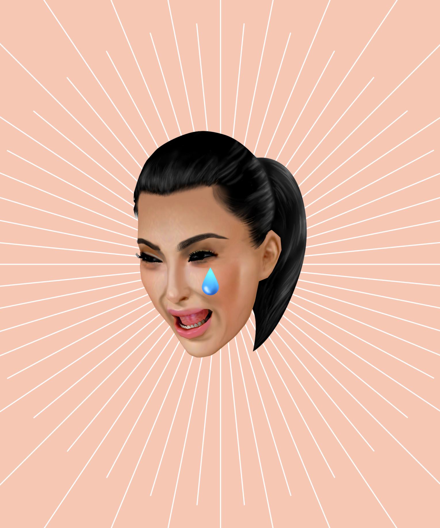 Brand new kimoji are coming soon coffee break kim - Ugly face wallpaper ...