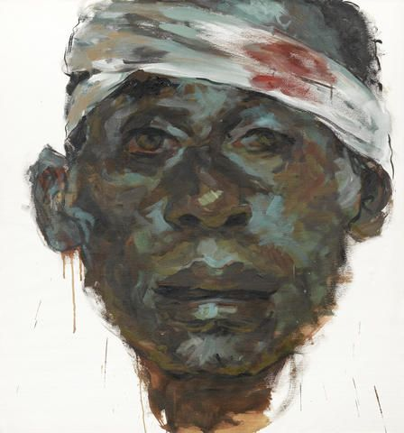 Tewodros Hagos (Ethiopian, born 1974) 'Head Wound'