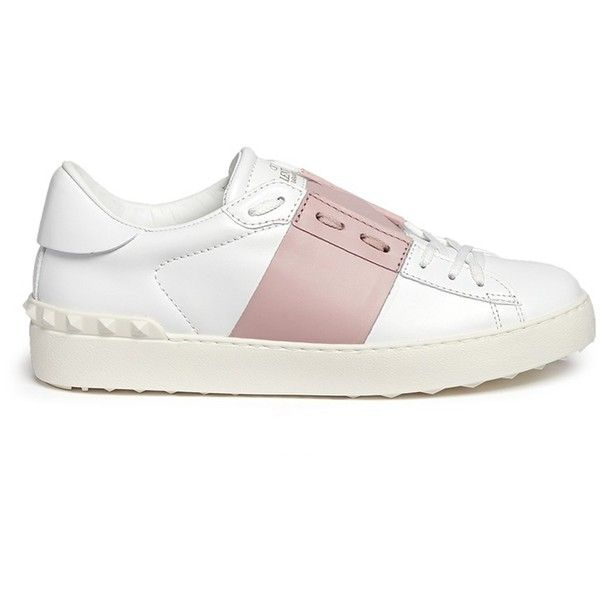 Valentino  Rockstud  colourblock leather sneakers (40 779408f73f1
