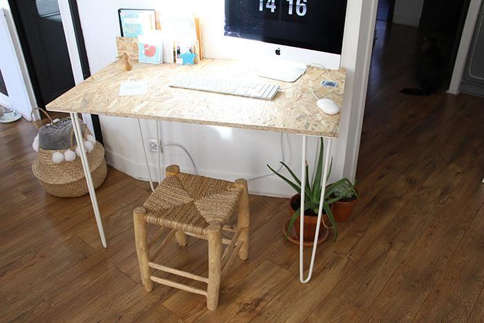Un bureau osb handmade très simple à réaliser huis