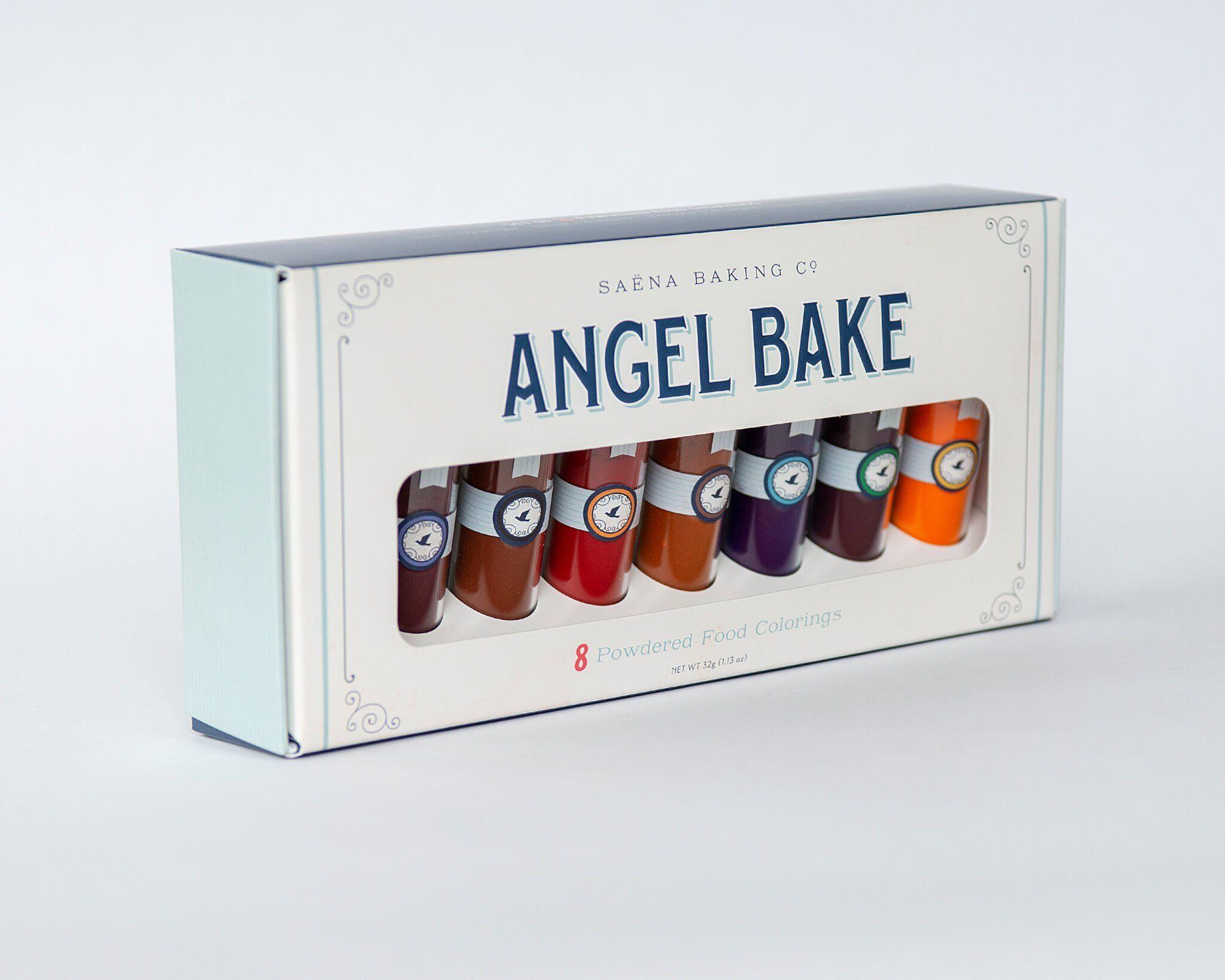 Angel bake powdered food coloring kit food coloring