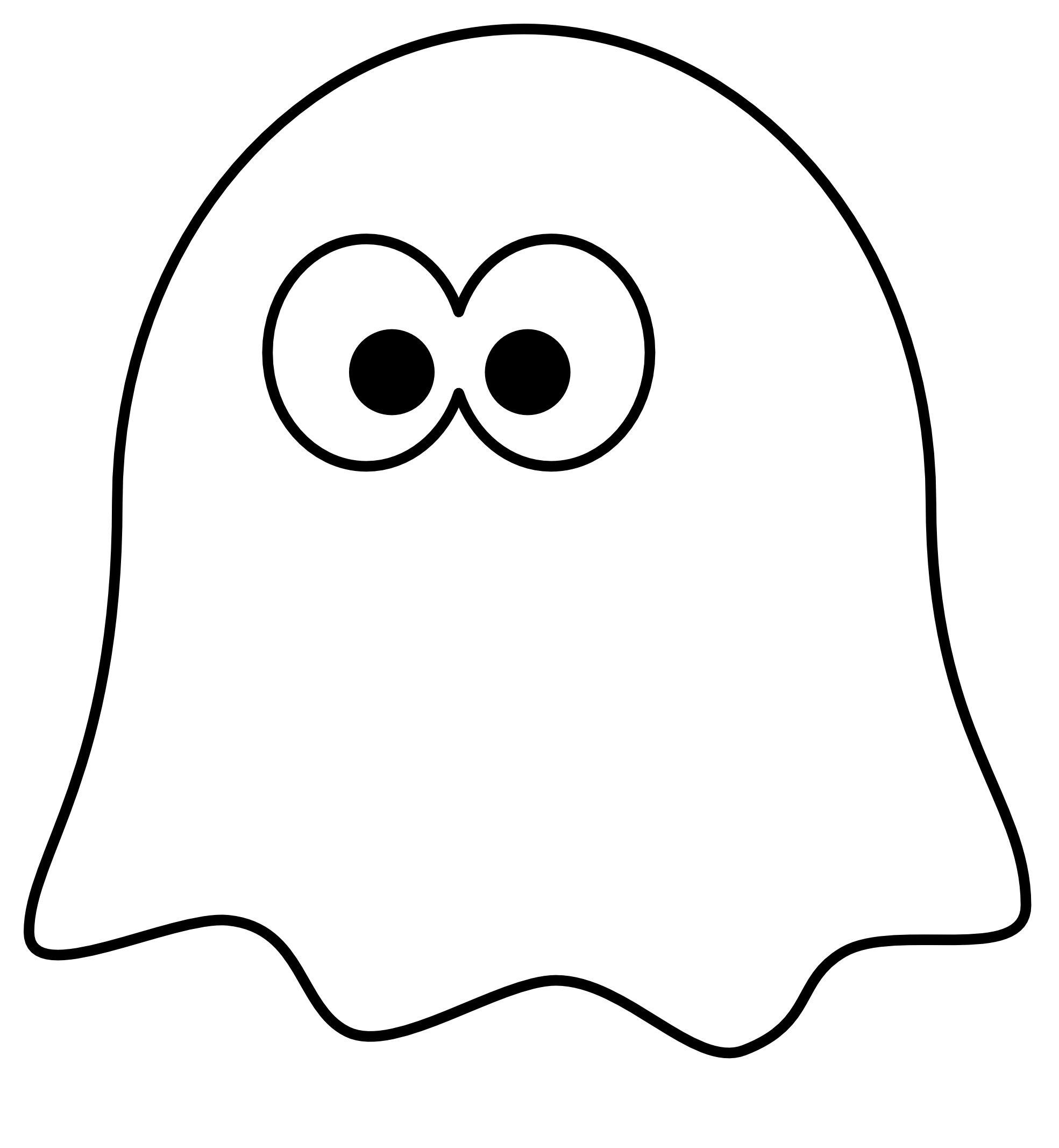molde para hacer un fantasma para hawollen | Halloween | Pinterest ...