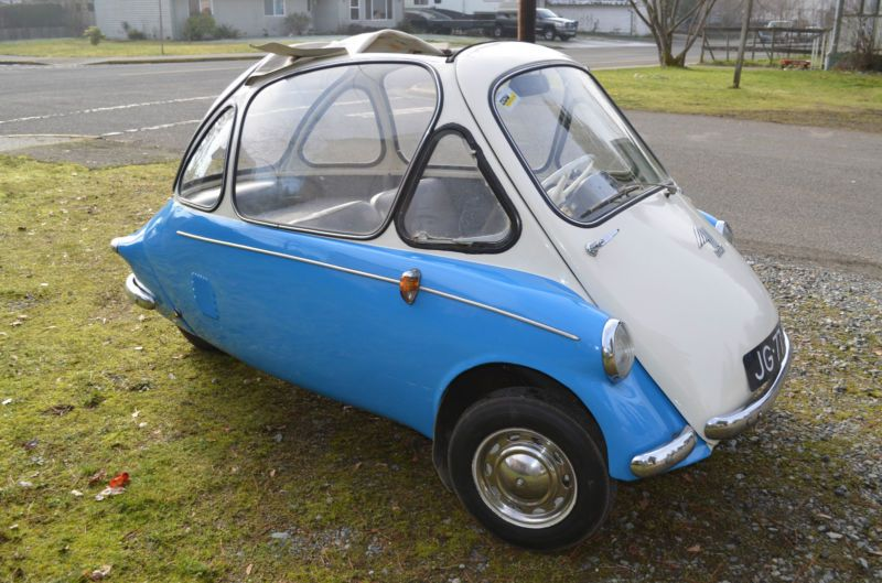 Heinkel Kabine Wheeler Vintage Car Love Pinterest