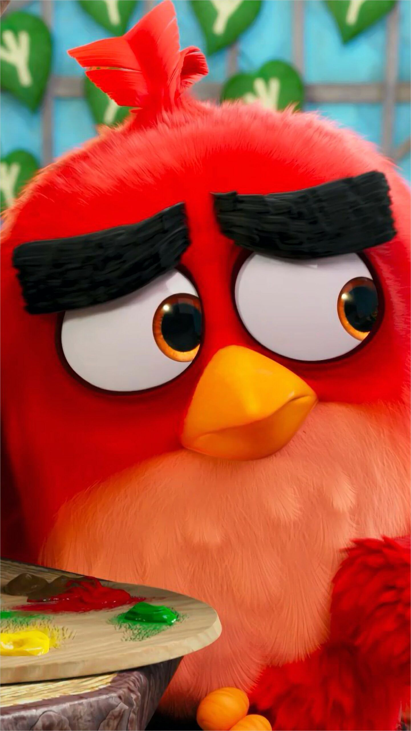 Angry Birds Wallpaper 4k Angry Birds Movie Bird Wallpaper Red Angry Bird