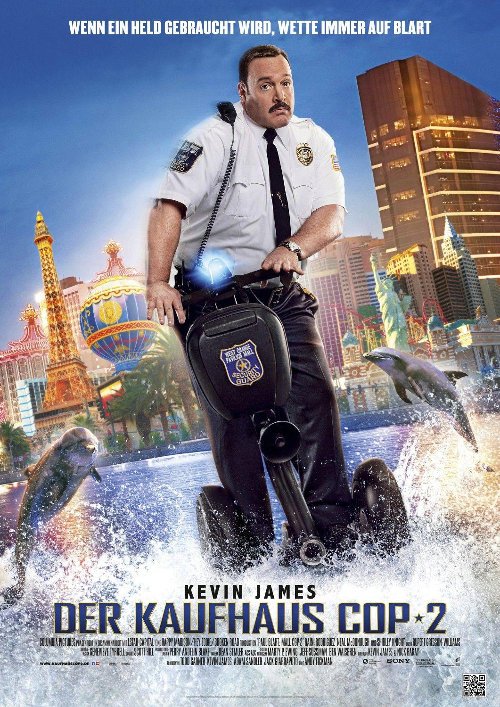 Paul Blart: Mall Cop 2 - German Poster   Movie Poster Land ...