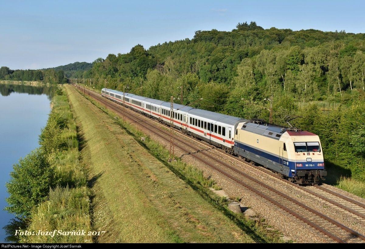 101 1444 Deutsche Bahn AG BR 101 at Hürth, Germany by