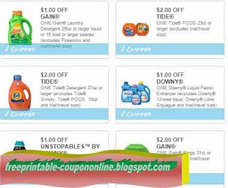 picture about Gain Coupons Free Printable called Cost-free Printable Tide Discount codes No cost Things Tide discount codes