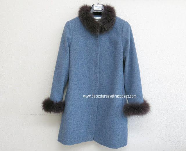 Cuello Y Puños De Pelo Abrigos Moda Moda Para Mujer