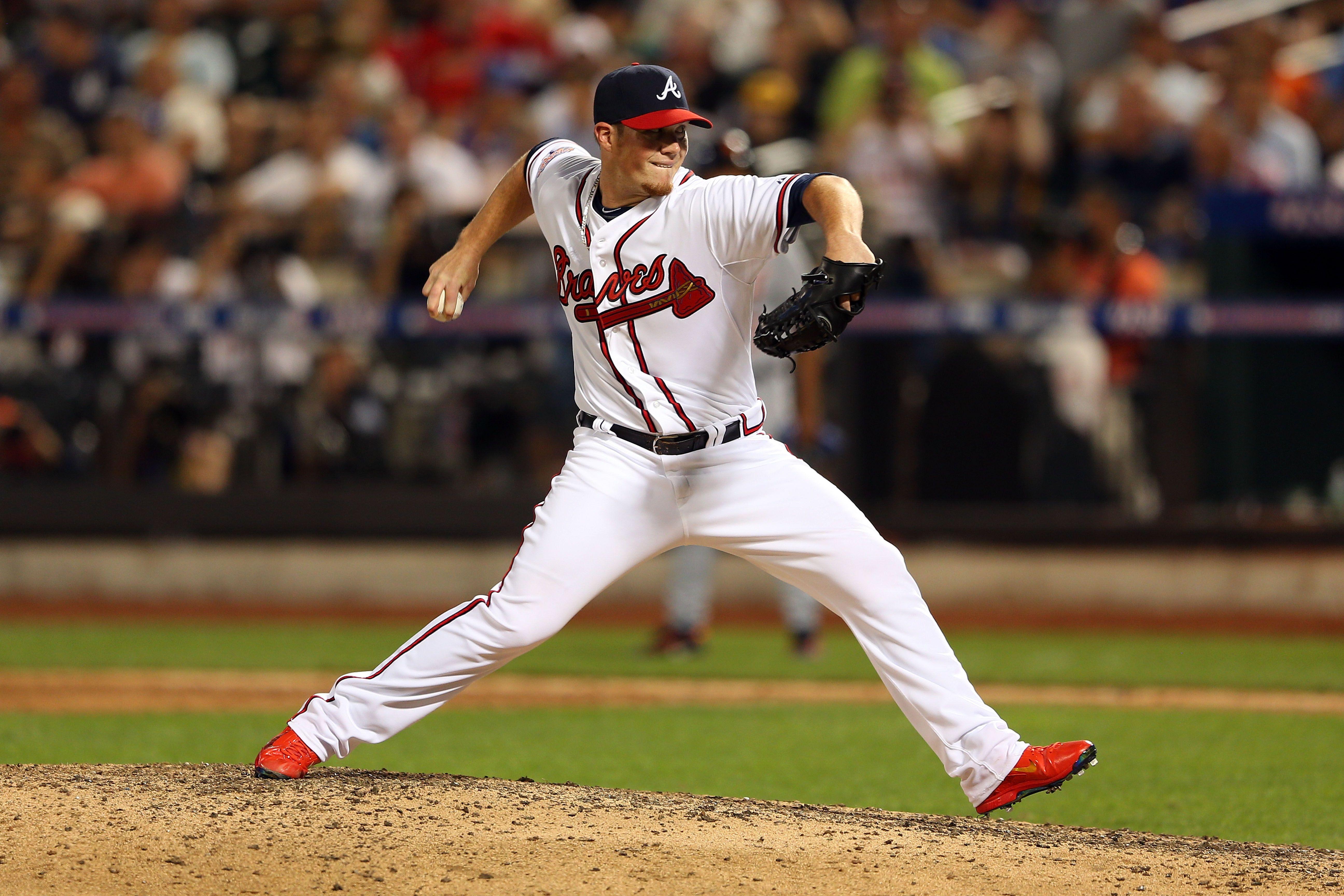 Atlanta Braves Pitcher Craig Kimbrel Throws An Inning In The 2013 All Star Game Atlanta Braves Braves Atlanta Braves Baseball