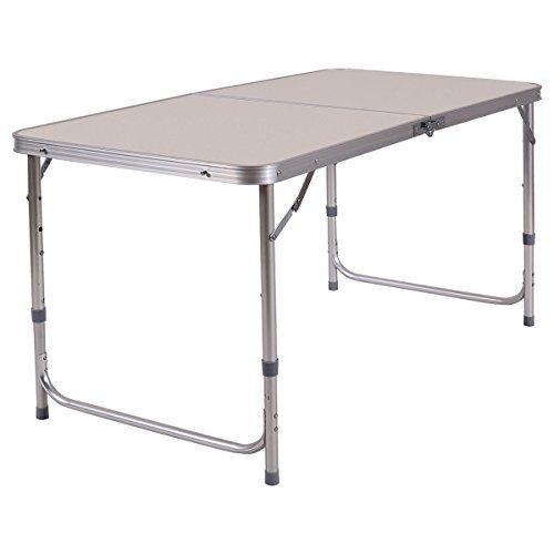 lunanice 2 x4 height adjustable folding table aluminum frame rh pinterest com
