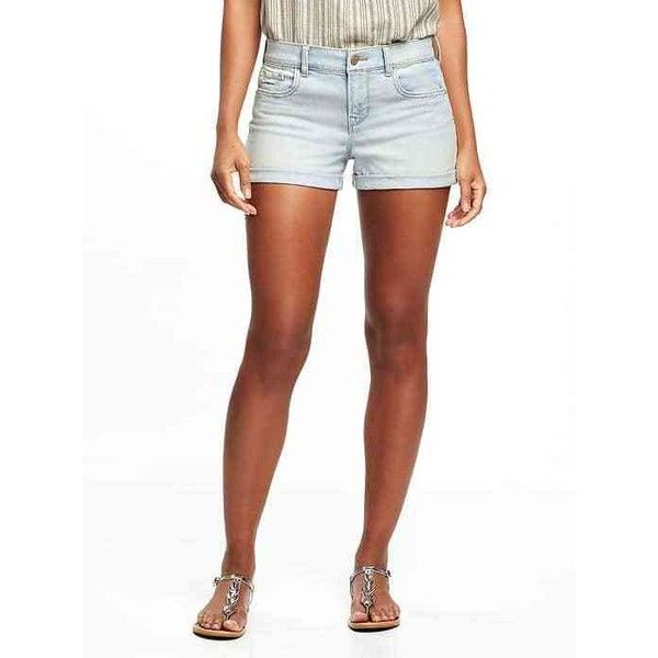 "Old Navy Womens Boyfriend Denim Shorts  3"" ($12) ❤ liked on Polyvore featuring shorts, temecula, denim shorts, boyfriend jean shorts, zipper pocket shorts, denim short shorts and relaxed fit shorts"