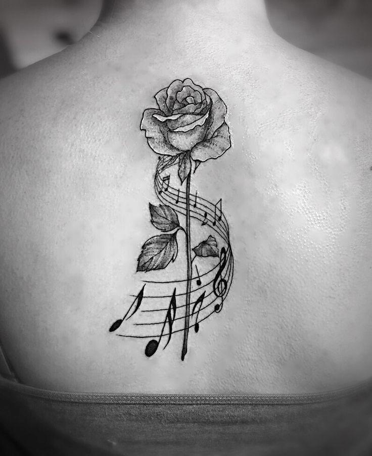 Rose and musical note back tattoo #rose #staff #music #notes #back #tattoo,-#backtatto #hiptatto #music #musictatto #musical #note #notes #Rose #staff #tattofemininas #tattogirl #tattohand #tattoo #wavetatto #wolftatto- Rose and musical note back tattoo #rose #staff #music #notes #back #tattoo,