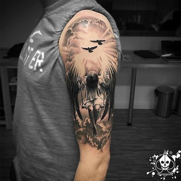 150 Unique Christian Tattoos For Men 2019: 61 Best Stylish, Beautiful And Unique Tattoos For Men 2019