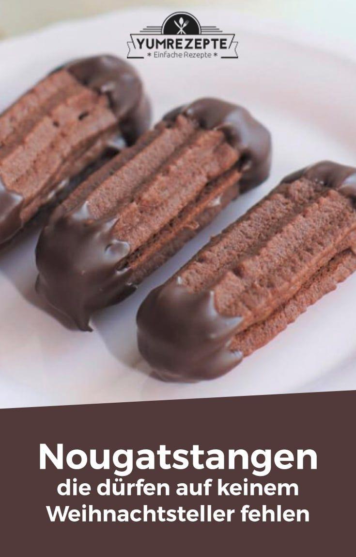 Heute bekommt ihr das erste Plätzchen-Rezept in diesem Jahr. Und zwar…. *trommelwirbel*….unsere allerliebsten Plätzchen, die auf keinem Weihnachtsteller fehlen dürfen: unsere heiß geliebten Nougatstangen! Sooo lecker sag ich euch! Nachdem die erste Ladung an Nougatstangen innerhalb #chocolatechipcookiedough
